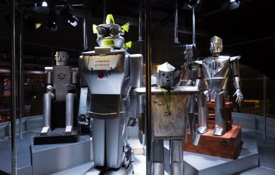 Robots on display at MSI