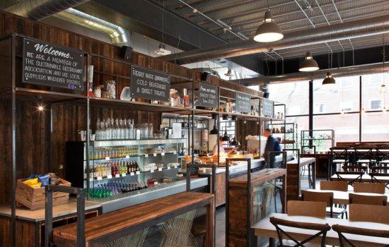 Warehouse Cafe at MSI