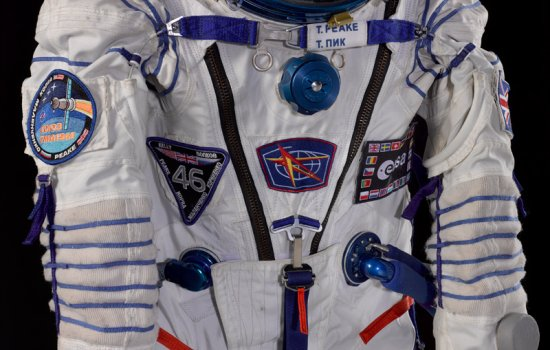 Tim Peake's Sokol spacesuit