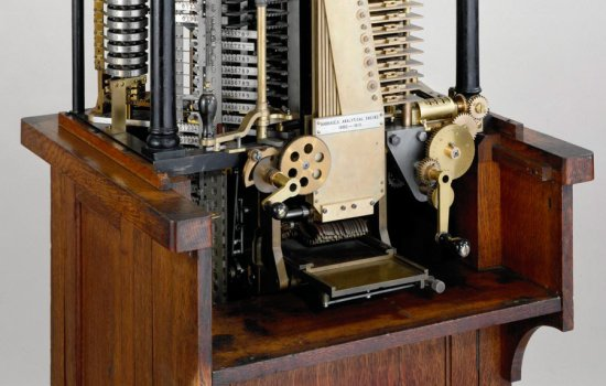 Close up of Henry Babbage's Analytical Engine Mill