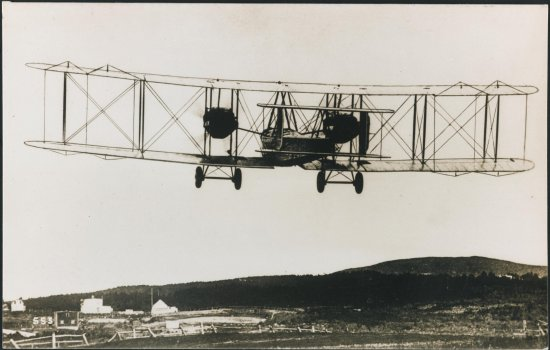 Postcard for the start of Alcock's Atlantic flight