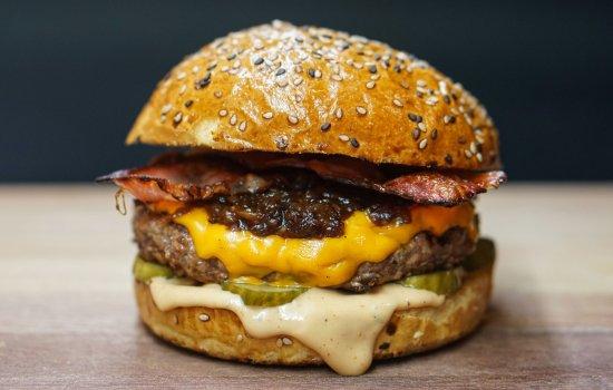 A beefburger