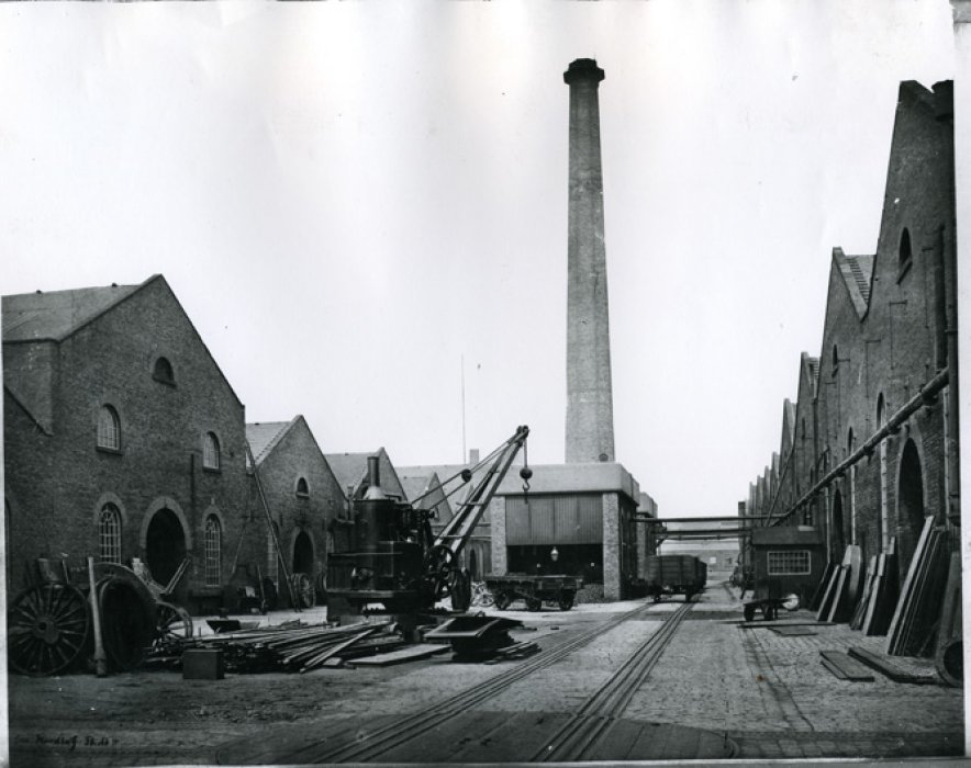 Beyer, Peacock's Gorton Works in 1870