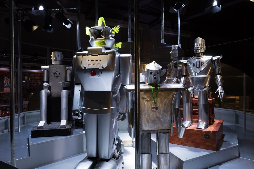 Robots on display at MSI
