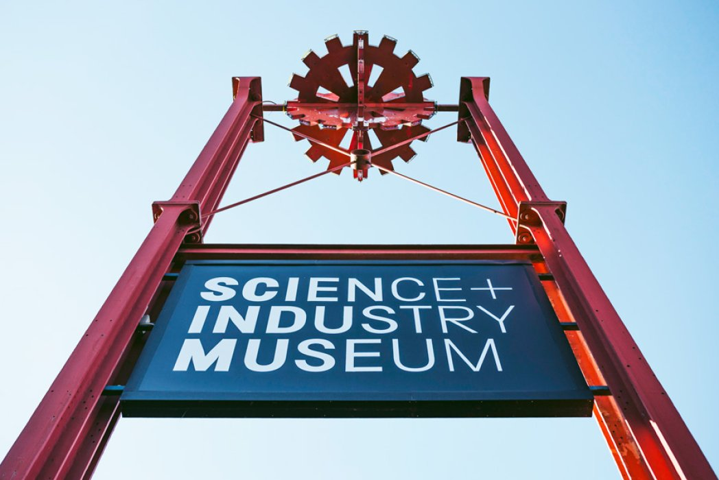 Science and Industry Museum sign