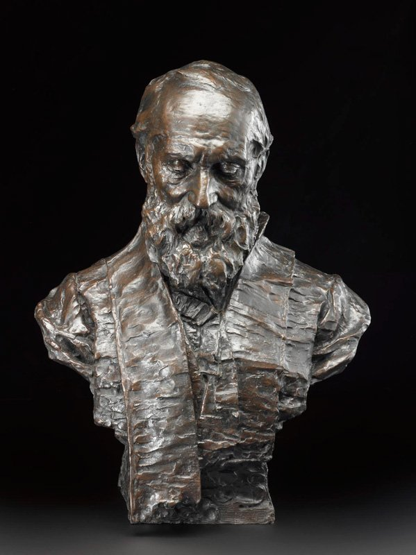 Portrait bust of Lord Kelvin