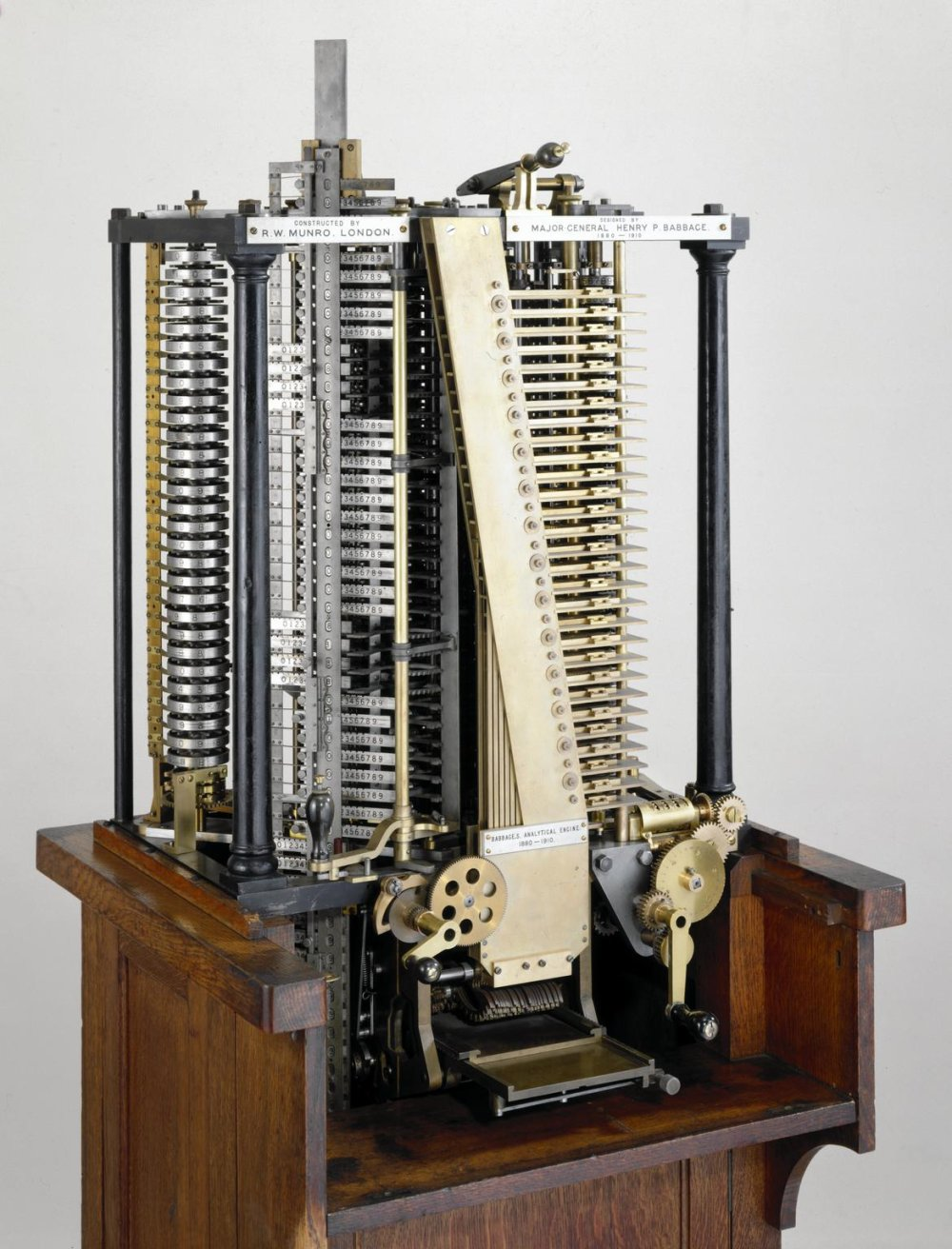 Henry Babbage's Analytical Engine Mill, 1910