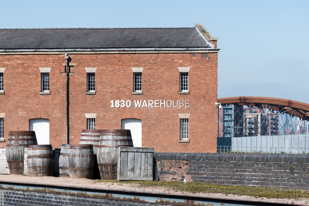 1830 Warehouse exterior