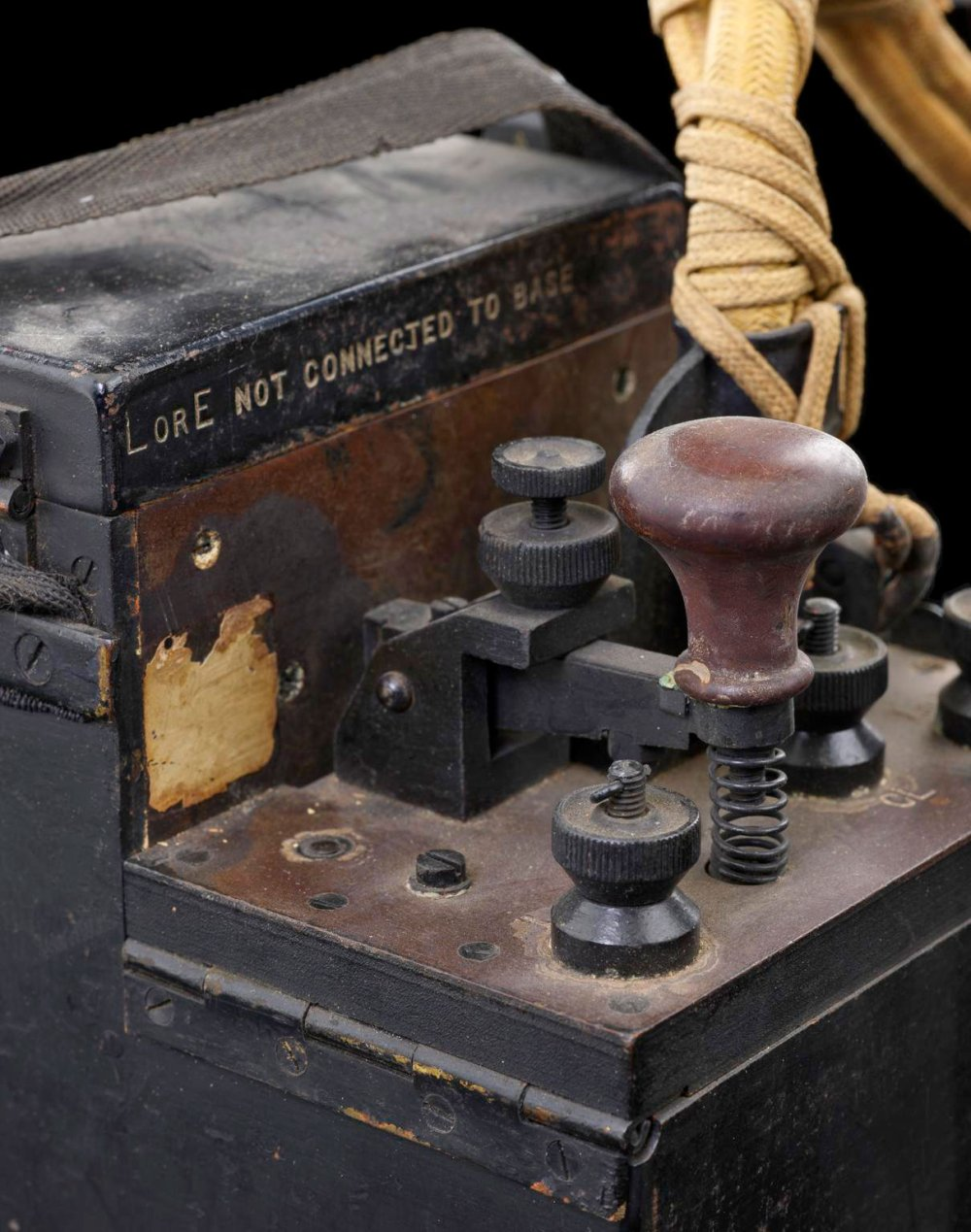 An early 20th century communication device